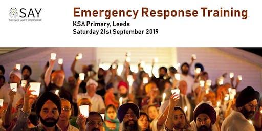 Emergency Response Training - Saturday 21st September 2019