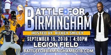 """2019  """"BATTLE FOR BIRMINGHAM"""" Battle of the Bands tickets"""