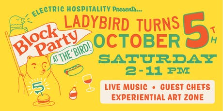 Block Party at The 'Bird tickets