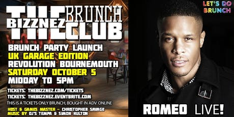 The Bizznez Brunch Club   UK Garage Edition, Launch Party tickets