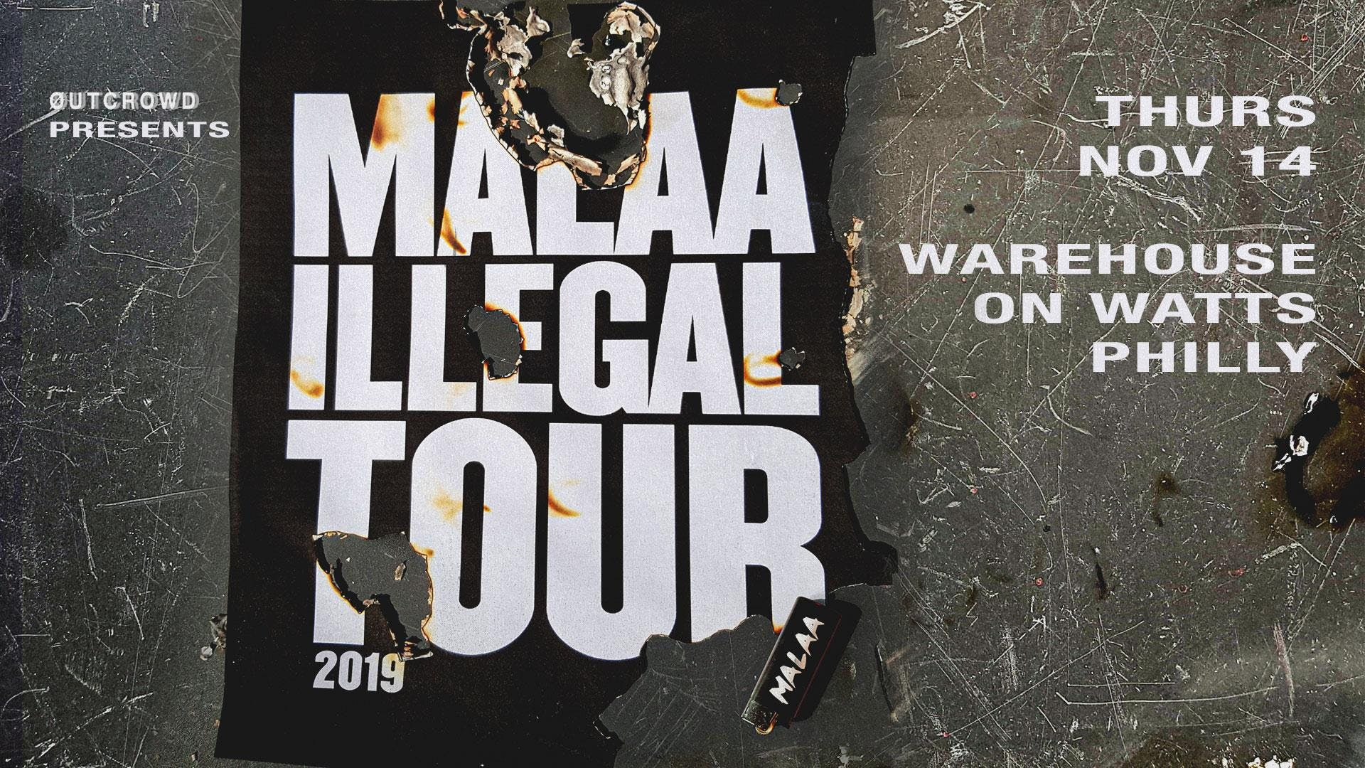 Outcrowd Pres Malaa Illegal Tour 2019 At Warehouse On Watts Images, Photos, Reviews