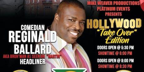 Laughing Out Last Saturday Starring Reginald Ballard aka Bruh'Man tickets