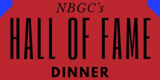 NBGC's 2019 Hall of Fame Dinner