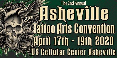 The 2nd Annual Asheville Tattoo Arts Convention tickets