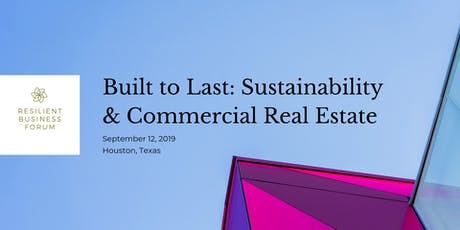 Built to Last: Sustainability and Commercial Real Estate Breakfast tickets