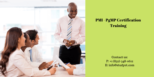 PgMP Classroom Training in Stockton, CA