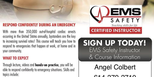 First Aid/AED/CPR class