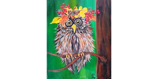 "10/12 - Mimosa Morning ""Harvest Owl"" @ Hidden Vine Bistro, Marysville"