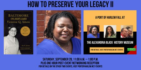 How to Preserve Your Legacy II with Dr.  Ida Jones tickets