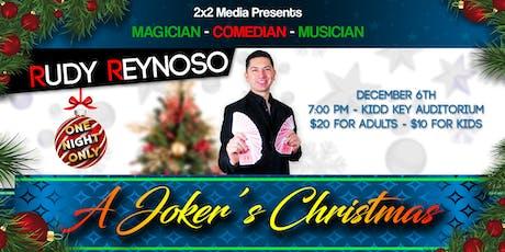 A Joker's Christmas tickets