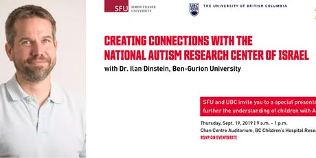 Creating Connections with the National Autism Research Centre of Israel tickets