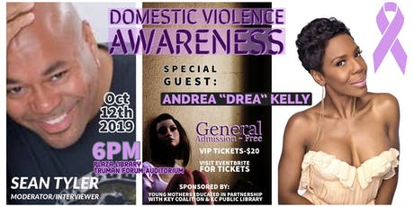 Speaking Out- Domestic Violence Awareness tickets