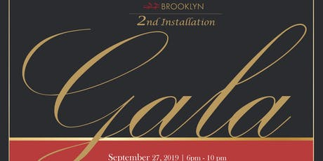 2019  AREAA BROOKLYN 2ND ANNUAL INSTALLATION AND GALA tickets