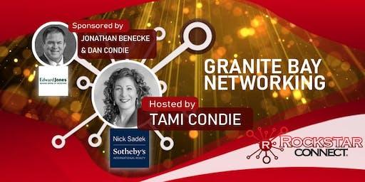 Free Granite Bay Rockstar Connect Networking Event (August, near Sacramento)