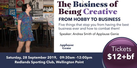 The Business of Being Creative - Sep 2019 tickets