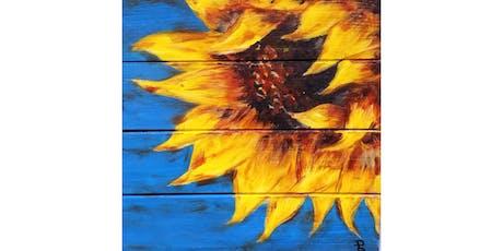 "10/12 - Mimosa Morning ""Sunflower on Wood"" @ Vino at the Landing, Renton tickets"
