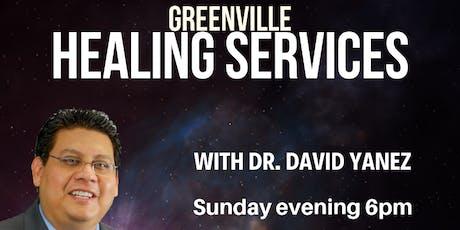 DYM Healing Service Greenville SC tickets