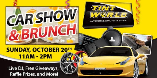 4th Annual Tint World Car Show & Brunch