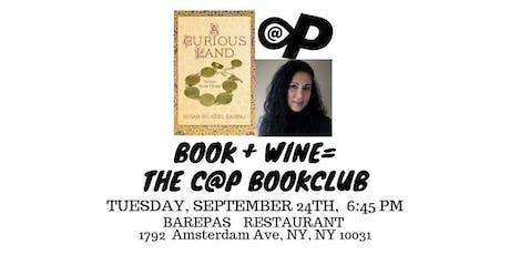 CAP Book Club #4: A Curious Land featuring writer Susan Muaddi Darraj tickets