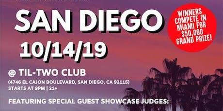 Coast 2 Coast LIVE Artist Showcase San Diego, CA - $50K Grand Prize tickets