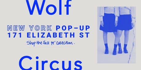 Wolf Circus Jewelry | New York Pop-up tickets