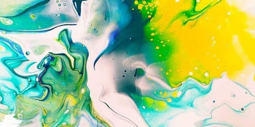 10/24 $25 Acrylic Pouring: Dutch Pour Method @ Paint Like ME Studio