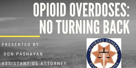 Opioid Overdoses: No Turning Back tickets