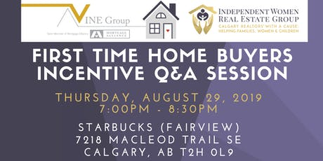 FREE INFO SESSION: First Time Home Buyer Government Incentive Q&A tickets
