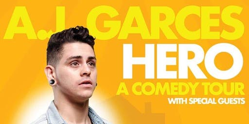 HERO: a comedy special by AJ Garces at Sylver Spoon!