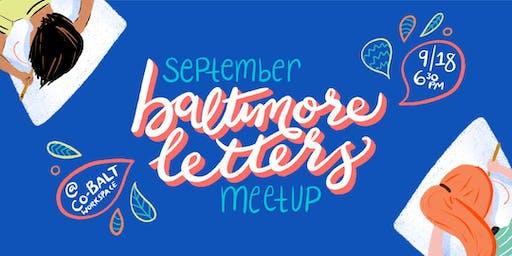 September Meetup