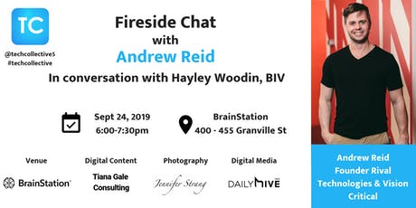 Fireside Chat with Andrew Reid tickets