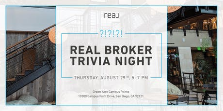 Agent Trivia Night Sponsored by REAL tickets