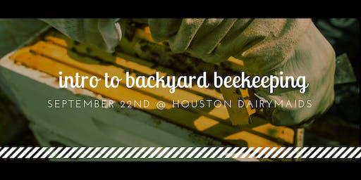 9/22/19 Intro to Backyard Beekeeping -  Bee2Bee Honey Collective