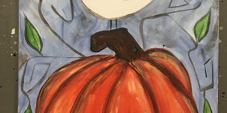 Bird on a Pumpkin Painting tickets