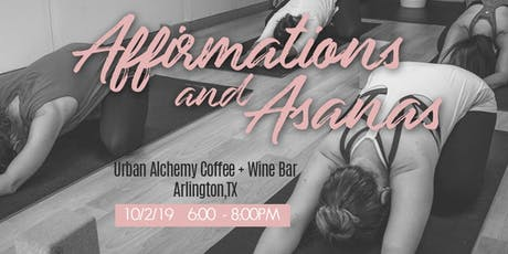 Affirmations & Asanas tickets