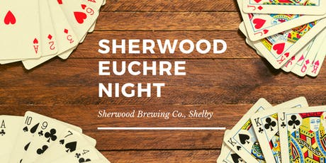 Euchre Night at Sherwood Brewing Co., Shelby tickets