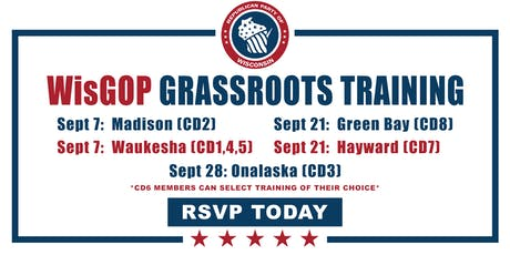 Grassroots Training for 1st, 4th, and 5th Districts tickets