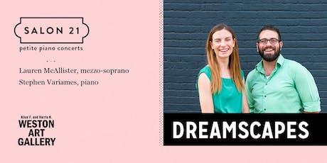 Dreamscapes tickets