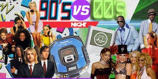 90s vs 00s Night