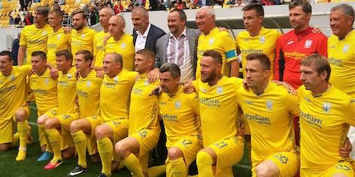 Ukraine Football Veterans VS Canadian Ukrainian Diaspora Football All-Stars