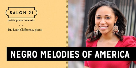 Negro Melodies of America tickets