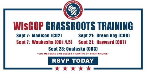 Grassroots Training for the 8th District