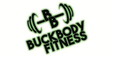 BuckBody in the Park tickets