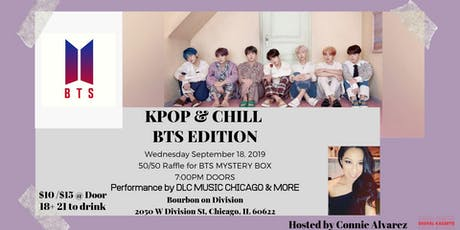 KPOP AND CHILL BTS EDITION tickets