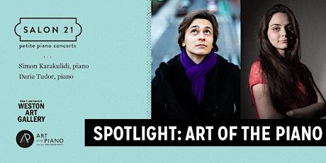 Spotlight: Art of the Piano tickets