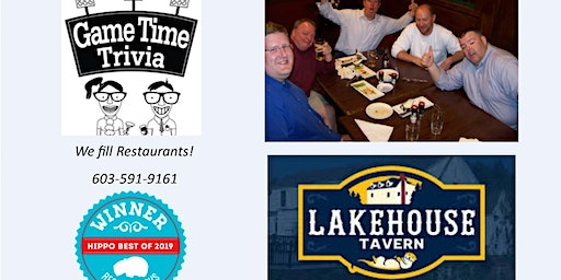 Game Time Trivia at the Lakehouse Tavern