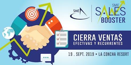 SME Sales Booster: Cierra Ventas Efectivas y Recurrentes tickets