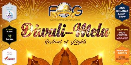 FOG Diwali - Festival of Lights tickets