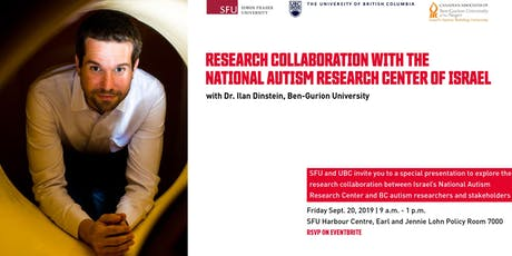 Research Collaboration with the National Autism Research Center of Israel tickets