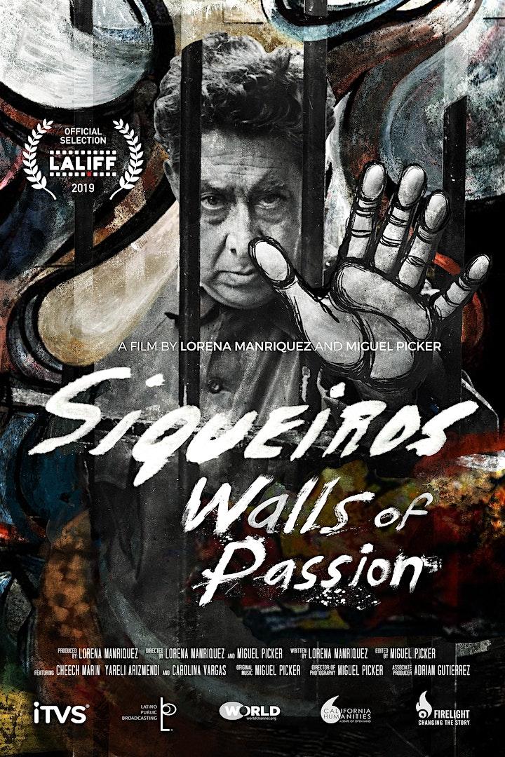 SIQUEIROS: WALLS OF PASSION - Film Screening image